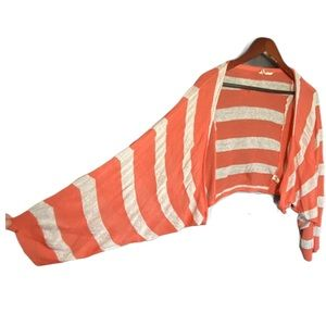 Moth by Anthropologie Striped Batwing Cardigan